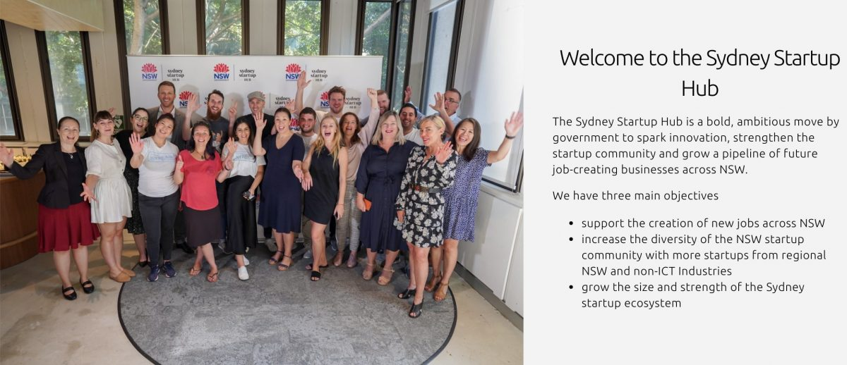 Employees, members, and residents of the Sydney Startup Hub powering the top startups in Australia