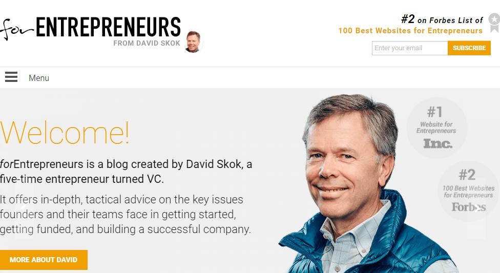 forEntrepreneurs resources for startups