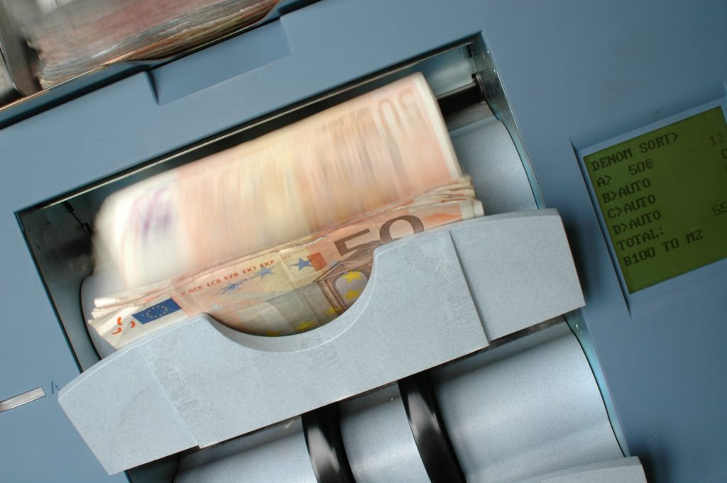 Money invested in securities can offer a less risky return