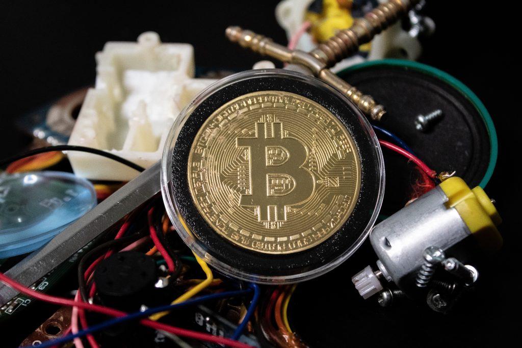 Une crypto-monnaie bitcoin